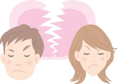 夫婦の亀裂